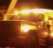 Grain Truck Lights Sticker