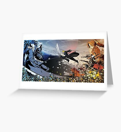 FF7 Greeting Card