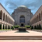 Australian War Memorial Overlooked by Sharon Brown