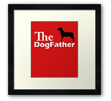 The Dogfather Framed Print