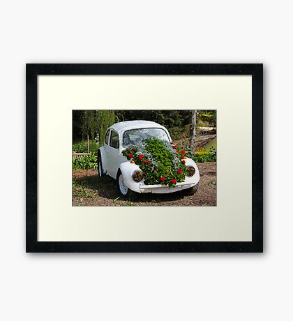 VW Car Plant! Framed Print