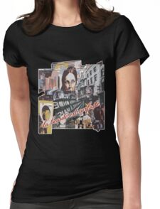 Decoupage Vintage Retro Artistic Design Womens Fitted T-Shirt