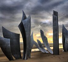 Omaha and D-Day (2) by Larry Lingard-Davis