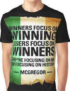 McGregor - Winners focus on winners Graphic T-Shirt