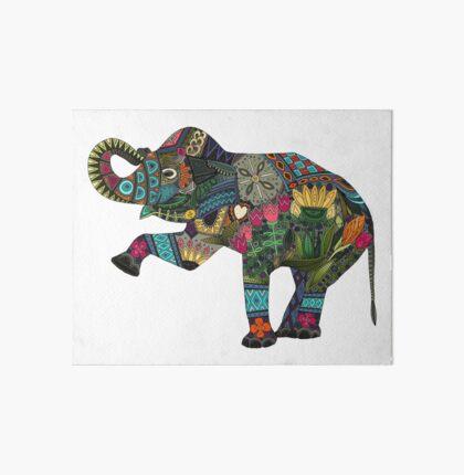asian elephant white Art Board