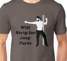 will strip for jeep parts Unisex T-Shirt