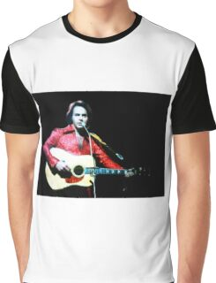 Young Neil Diamond Graphic T-Shirt