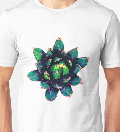 Sweet Agave ( Blue Succulent ) Unisex T-Shirt