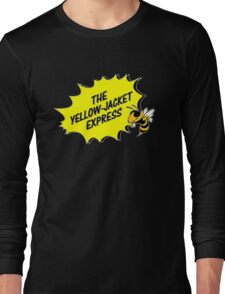 The Yellow Jacket Express - right Long Sleeve T-Shirt