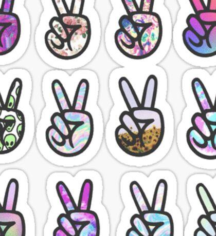 peace sticker pack Sticker