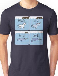 Unicorn Evolution (Noah is a jerk) Unisex T-Shirt