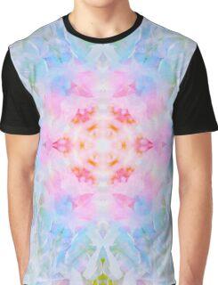 Pastel Beige Mandala Tie Dye  Graphic T-Shirt
