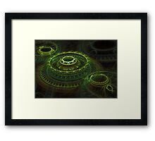 Tombs Of Time Framed Print