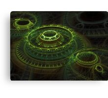 Tombs Of Time Canvas Print