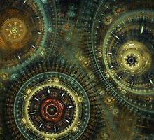Steampunk Gears by MartinCapek