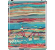 the super hipster fixie silhouette  iPad Case/Skin