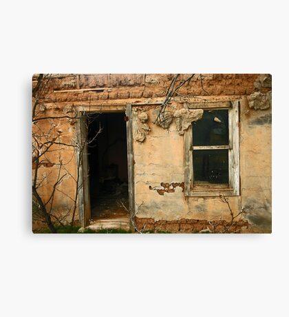 Abandoned Abeytas Canvas Print