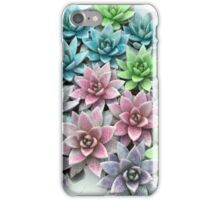 Glittery flowers iPhone Case/Skin