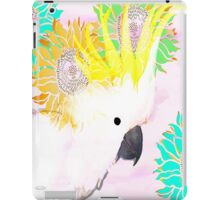 7 DAYS OF SUMMER /SUMMER COLLECTION-PINK MAJOR MITCHELL COCKATOO iPad Case/Skin