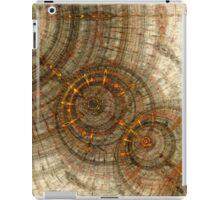 Golden cogwheels iPad Case/Skin
