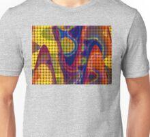 Pastel Colours Wicker Unisex T-Shirt