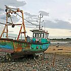 Guernsey Fishing Boat by RedHillDigital