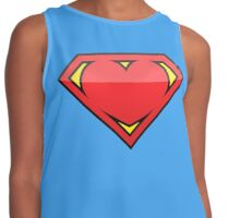 Super love Contrast Tank
