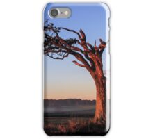A Tree, Boughing to Nature iPhone Case/Skin