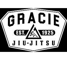 Gracie Brazilian  Jiu Jitsu martial arts EST 1925 Photographic Print