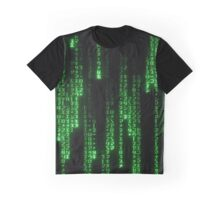 Matrix Text Graphic T-Shirt