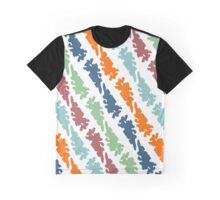 Bright pattern Graphic T-Shirt