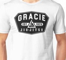 Gracie Brazilian  Jiu Jitsu martial arts EST 1925 black Unisex T-Shirt