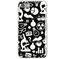 Crazy Science Pattern iPhone Case/Skin
