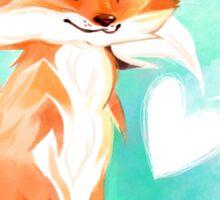 I love you, Kitsune! Sticker