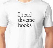 I read diverse books Unisex T-Shirt