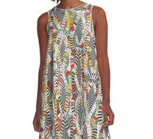 knot drop A-Line Dress