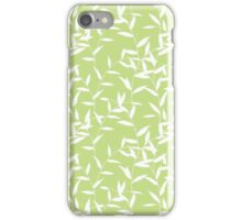 Green Leaves Branches iPhone Case/Skin