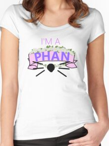 I'm a Phan Women's Fitted Scoop T-Shirt