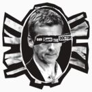 God Save the Doctor -Sticker by zerobriant