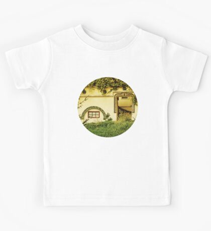 The Traditional Facade Kids Tee