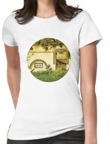The Traditional Facade Womens Fitted T-Shirt