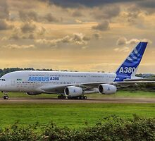 Airbus A380 - Evening Taxi by © Steve H Clark