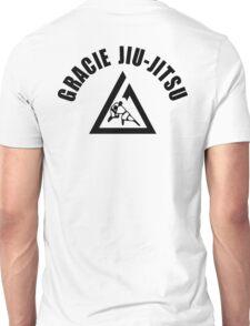 Gracie Jiu Jitsu Martial Arts Brazilian black2 Unisex T-Shirt