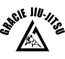 Gracie Jiu Jitsu Martial Arts Brazilian black2 Photographic Print