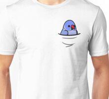 Too Many Birds! - Violet Indian Ringneck Unisex T-Shirt