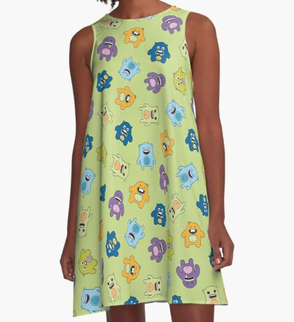 Cute Monsters A-Line Dress