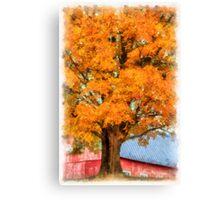 Autumn On The Farm 2 Canvas Print