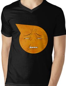 soul eater symbol- excalibur face Mens V-Neck T-Shirt