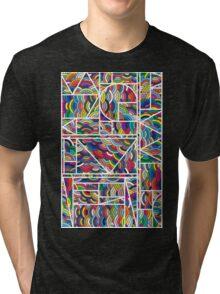 Kaku Technicolor Tri-blend T-Shirt