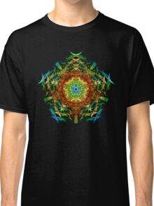 Energetic Geometry-   Multidimensional Power Star Energy Classic T-Shirt